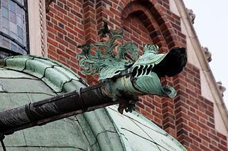 Gargoyle - Gargoyle of Waza Chapel, Wawel Cathedral, Poland