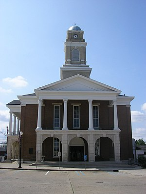 Garrard County, Kentucky - Image: Garrard County Kentucky Courthouse
