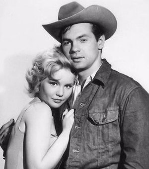 Gary Lockwood - Lockwood and Tuesday Weld in Bus Stop (1961, age 24)