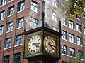 Gastown Steam Clock 2009.JPG