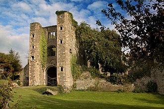 Pencoed Castle - The gatehouse at Pencoed