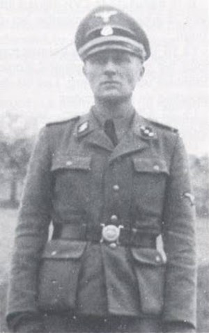 Léon Gaultier - Léon Gaultier in Waffen-SS uniform, during World War II.