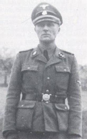 Léon Gaultier - Léon Gaultier in Waffen-SS uniform, during World War II.