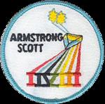 Missionsemblem Gemini 8