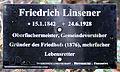 Gedenktafel Fürstenwalder Allee 93 (RahndWil) Friedrich Linsener.jpg