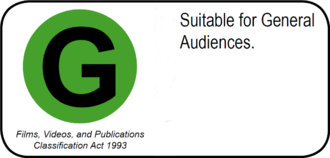 Office of Film and Literature Classification (New Zealand) - G