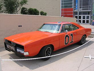 The Dukes of Hazzard - The General Lee on public display