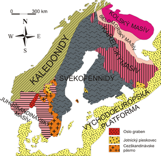 Baltic Shield - Baltic shield geological provinces