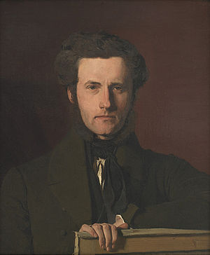Georg Hilker - Georg Hilker, portray by Christen Købke (1837)
