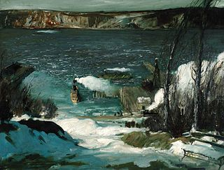 George Bellows - North River (1908).jpg