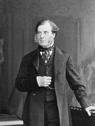 Sir George Burrows, 1st Baronet - Image: George Burrows b 1801b