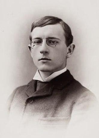 George Pierce Baker - Baker c. 1886