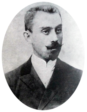 Abesalom da Eteri - Image: Georgian classical composer Zacharia Paliashvili in the early 1900s crop