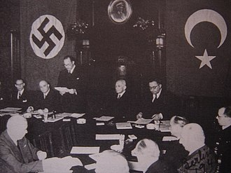 Anti-Comintern Pact - Turkey joined the pact as an observer, 18 June 1941.