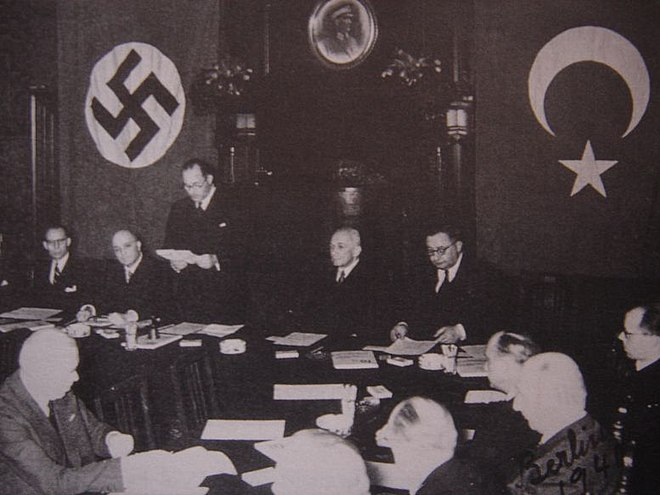 Turkey joined the pact as an observer, 18 June 1941 German-Turkish Treaty of Friendship and Non-Aggression.jpg