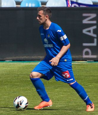 Paco Alcácer - Alcácer in action for Getafe in 2013