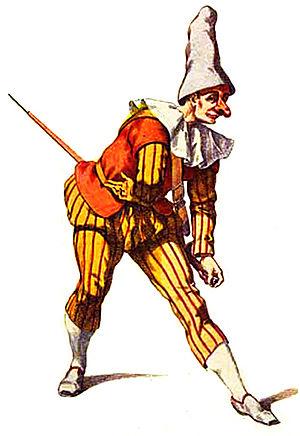 Zanni - Image: Giangurgolo maschera calabrese della commedia dellarte
