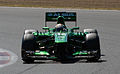 Giedo van der Garde Caterham 2013 Silverstone F1 Test 005.jpg