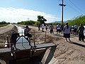 Gila River Indian Community, Akimel O'odham, Sacaton, AZ, USA, One Spring Morning - Wildland Firefighter Physical Fitness Pack Test 2011 - panoramio.jpg