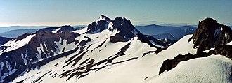 Gilbert Peak (Washington) - Image: Gilbert Peak and Ives