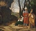 Giorgio da Castelfranco, gen. Giorgione, , Kunsthistorisches Museum Wien, Gemäldegalerie - Die drei Philosophen - GG 111 - Kunsthistorisches Museum.jpg