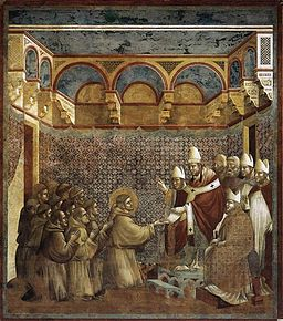 Giotto di Bondone - Legend of St Francis - 7. Confirmation of the Rule - WGA09128