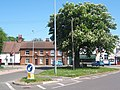 Gipping Road junction, Claydon, looking across Ipswich Road - geograph.org.uk - 793735.jpg