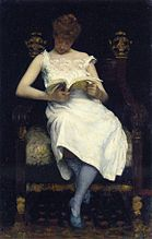 Girl Reading, 1893 Edward Simmons.jpg
