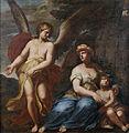 Giuseppe Diamantini Engel zeigt Hagar und Ismael den Weg.jpg