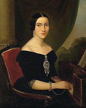 Giuseppina Strepponi - Giuseppina Strepponi (c. 1845) (Museo Teatrale alla Scala)
