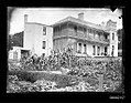 Glass plate negative image of an unidentified two storey house, Australia (26154049561).jpg