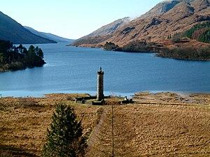 Loch Shiel - Image: Glenfinnan bay