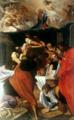 Gli Apostoli al sepolcro della Vergine - Ludovico Carracci.png