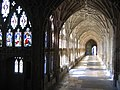 Gloucester Cathedral Cloisters - geograph.org.uk - 611357.jpg