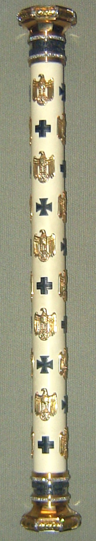 Baton (military) - Image: Goering reichsmarschall baton
