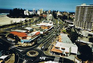 Tweed Heads, New South Wales - Tweed Heads is the right part of the image