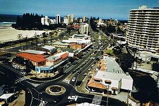Coolangatta Suburb of Gold Coast, Queensland, Australia
