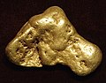 Gold nugget (placer gold) (Pennsylvania Mountain, Alma Mining District, Park County, Colorado, USA) 1 (17064000675).jpg