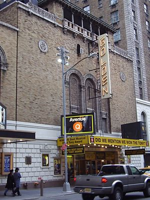 John Golden Theatre - John Golden Theatre, showing Avenue Q, 2006