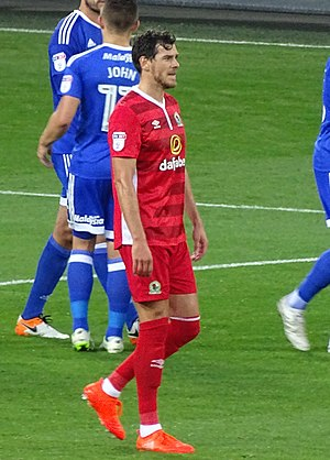 Gordon Greer - Greer playing for Blackburn Rovers in 2016.
