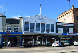 Goulburn Evening Penny Post - The Penny Post building in Goulburn, built in 1935