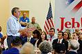 Governor of Florida Jeb Bush at TurboCam, Barrington, New Hampshire on August 43th by Michael Vadon.jpg