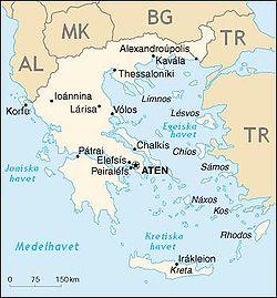 greklands karta på svenska Grekland – Wikipedia greklands karta på svenska