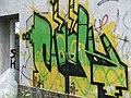 Graffiti; factory ruins; České Budějovice.JPG