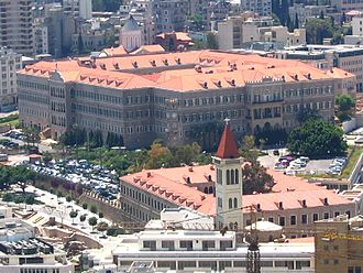 Politics of Lebanon - The Grand Serail also known as the Government Palace is the headquarters of the Prime Minister of Lebanon