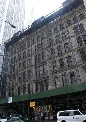 Henry Engelbert - Grand Hotel (now Clark Apartments) (1868)