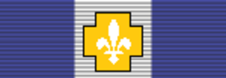 Canadian order of precedence (decorations and medals) - Image: Grand Officer National Order of Québec Undress ribbon