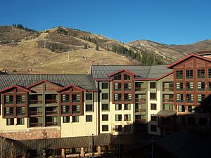 Grand Summit Hotel at The Canyons, Nov. 2007. ...