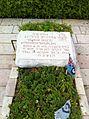 Grave of George Beurling in Haifa, Israel.jpg