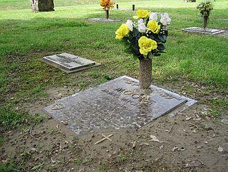 West Memphis Three - Grave of Michael Moore